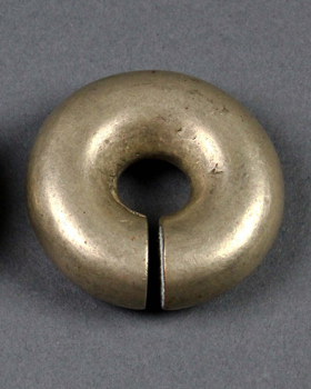 Borneo, Kalimantan, Dayak, brass, ear weights