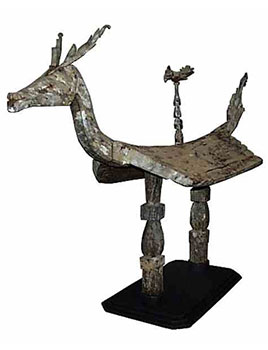 5: Wood Shrine in the form of a Deer